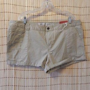 Caslon Khaki Shorts - NWT - size 18